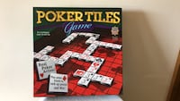POKER TILES GAME NEW ALL PIECES IN ORIGINAL BOX Littlestown, 17340
