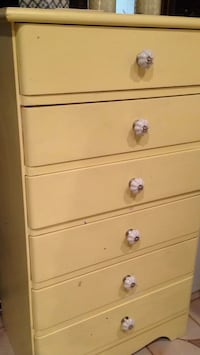 Antique 6 drawer dresser Toronto, M6J