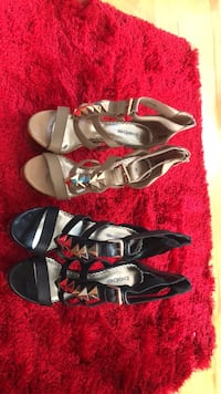 three pairs of assorted shoes Blainville, J7B 1L2