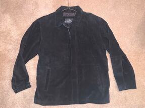 Men's XL - Stormtech classic leather suede shell