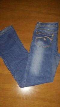 GIRLS SIZE 14R JUSTICE JEANS