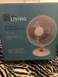 Brand New in Box desk fan Toronto, M2M 1C9