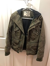 green TNA zip-up jacket Surrey, V3R 3M9