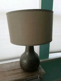 black and gray table lamp Chantilly, 20152
