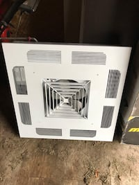 Heater ceiling mounted
