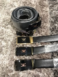 black and gray leather belt London, SE19 1AE