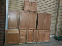 brown wooden cabinet with drawer Silver Spring, 20902