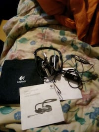 NEW OPEN BOX, LOGITECH LAPTOP HEADSET MODEL H555