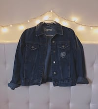 Topshop blue denim jacket Montreal
