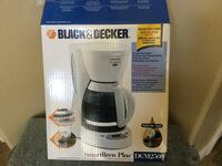 White black&decker smartbrew plus coffeemaker box Henderson, 89011