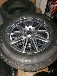 Brand new michelin now tires on brand new rims