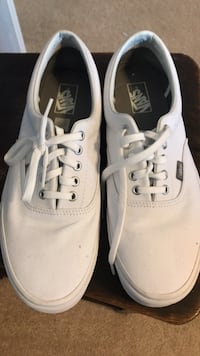 pair of white Vans low-top sneakers Harpers Ferry, 25425