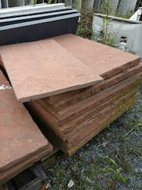 pile of brown concrete tile lot Ijamsville, 21754