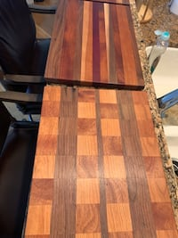 Custom hand made cutting boards. Great holiday gifts. Many beautiful styles Chester, 23831