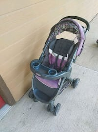 baby's black and pink stroller North Richland Hills