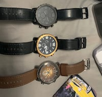 Fossil chronograph watches