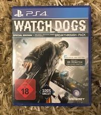 Uncharted 4 PS4 Spiel Fall