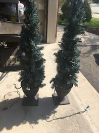 Slim outdoor decorative trees with lights Brampton, L7A 1J2