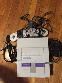 Super Nintendo complete with two controllers $80. Tested in good working condition. What you see is what you get. Toms River, 08755