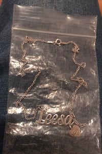 "925 Sterling Silver  ""Leesa"" necklace Yakima, 98902"