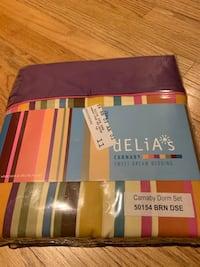 New in original packaging dorm sheet set (2 sets available)