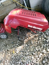 red and black mtd yard machine ride on mower Roanoke