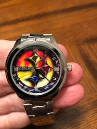 Brand New Stainless Steel Pittsburgh Steelers Watch  Hanover, 21076
