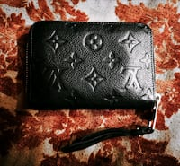 Louis Vuitton black monogram zippy wallet 3746 km