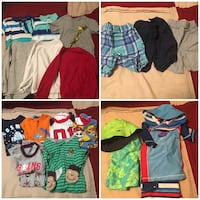 Size 3 boys spring/summer/fall lot of clothes! Excellent condition!! Toronto, M2N 7K2