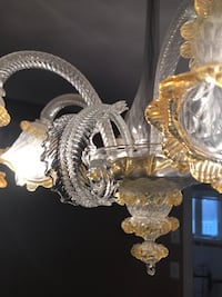 Murano chandelier from Italy  Vaughan, L6A 2G1