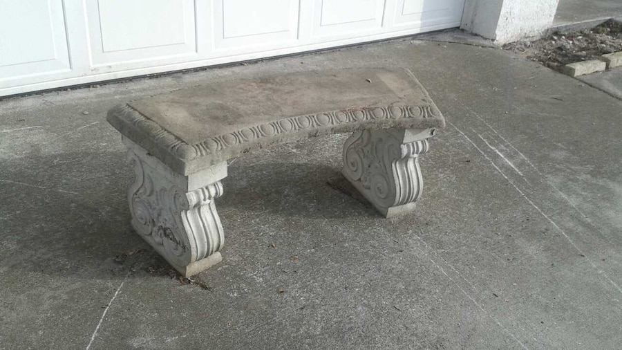 on ideas diy benches concrete garden best look bench wood