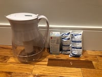 BRITA Pitcher with three brand new filters Toronto, M4X 1B9