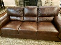 Brown Learher Couches