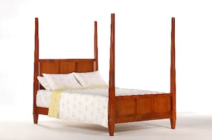 Four Post Platform Style Bed  ** New-In-Box **