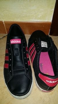 paio di sneakers basse Adidas nere Palermo, 90131