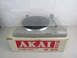 Akai AP-D210 Direct Drive Turntable-Made In Japan