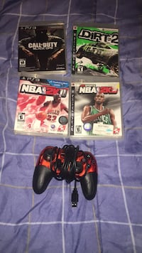 4 working ps3 games with controller London, N5X 4K4