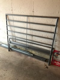 Double bed frame. Needs wood slats or a box spring. Pick up only. $50 obo Acton, L7J 2S3