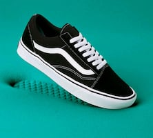 Vans Ultracush Old Skool Black White