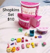 Shopkins toy set - $10