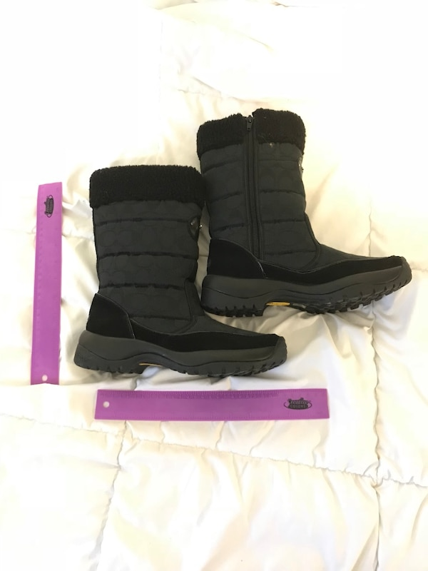 Coach Winter Boots Size 8