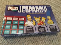 The Simpson's Jeopardy Game. Sealed