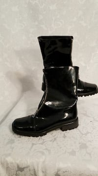 Blk sz7 leather patented leather Calgary, T3H 2T9