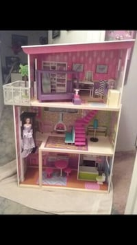 pink and brown doll house Pittsburgh, 15210