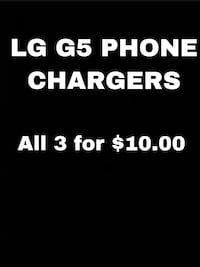 LG Phone Charger Cords