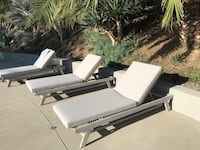 Outdoor set from www.article.com. 4month old $5,500 new. Available now and can be sold separately. Sun Lounge chair $999 new for $400. Sofa $1299 new for $750 and chair $599 new for $250 Los Angeles, 91356