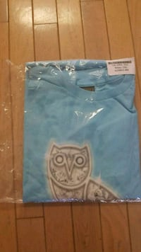 *RARE* OVO diamond blue owl tee AUTHENTIC Guelph, N1H 6J2