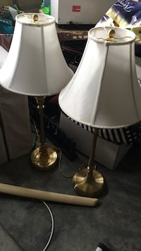 Matching Brass Lamps Grottoes, 24441