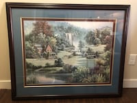 Cabin Artwork - Beautifully Matted and Framed Edmonton, T5Z 0E3