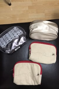 4 makeup bags Burnaby, V5J 4J3